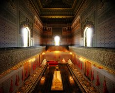 In the Mausoleum of Mohammed V from #treyratcliff at www.StuckInCustoms.com - all images Creative Commons Noncommercial.