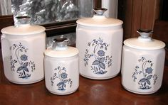 Vintage Kromex Kitchen Canisters / Set of by SunsetSideVintage, $30.00