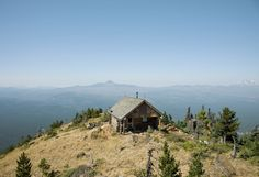 Cabin on Black Butte, Oregon