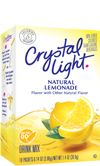 Crystal Light lemonade...this stuff never gets old!