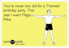 in case anybody wanted birthday ideas.