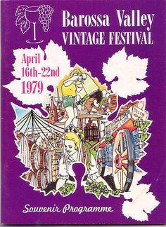 Barossa Vintage Festival program cover - 1979.