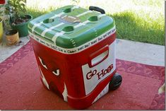 Tailgate Tuesday: Painted Cooler Tutorial