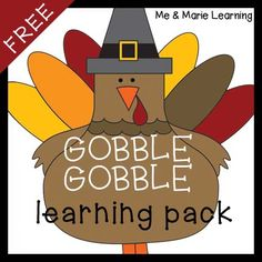 Thanksgiving Learning Pack- FREE!