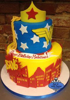 wonder woman cakes, eat cake, cake shmake