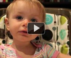 Dad interrogates his baby girl about who her favorite parent is. This is adorable!