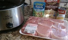 """ranch pork chops *Just made this, and I got an """"F*** yeah!!"""" out of it.  Definitely making this again."""