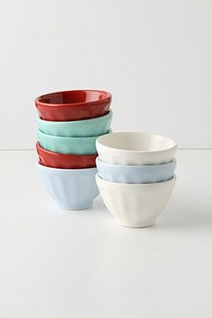 Colorful bowls!