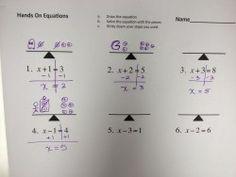 Solving Equations – MONSTER MATH!   I Speak Math