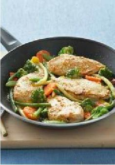 Skillet Chicken & Vegetable Parmesan – One fan told us this Skillet Chicken & Vegetable Parmesan tastes like restaurant far. When was the last time your family left you a tip at the table?