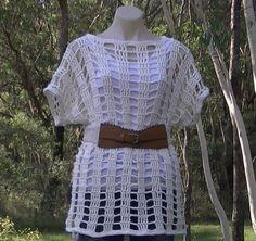 Mesh Summer Top Crochet Tutorial Part 1 of 2 pattern, yarn, summer top