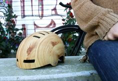 Woodgrain Helmet by Mission Bicycle Company