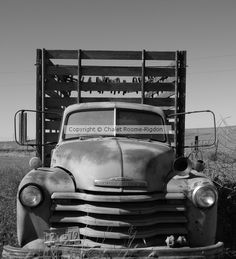 Old Chevy Truck by Chalet Roome-Rigdon on ARTwanted