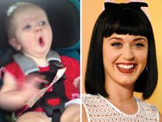 Watch Katy Perry's 'Dark Horse' soothe a fussy baby in car