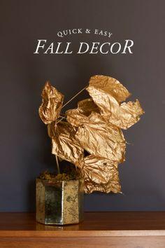 Quick & easy fall decor.