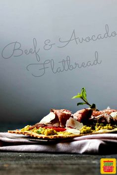 Beef and Avocado Fla
