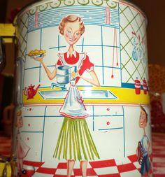 Vintage 1950s Androck HandISift Flour Sifter by KlassiqueKreations, $37.50