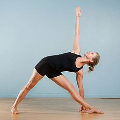 Yoga for Runners: Triangle Pose