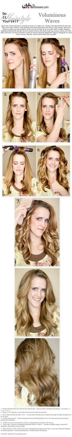 DIY Hairstyles Retro Bouffant