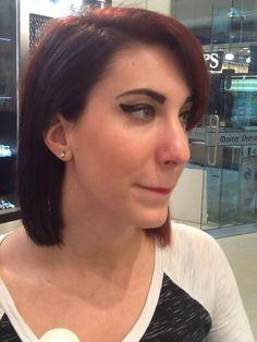 New nostril piercing by Master Pierce