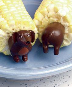 it's a corn dog!
