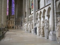 Ambulatory, Rouen Cathedral