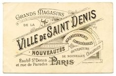 vintage french labels