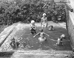1930's(?) homemade swimming pool