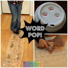 Still Playing School: Word Pop! - Bubble Wrap Sight Words