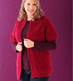 Sweater Jacket Knit Pattern | Knitting Crafts | Winter Crafts — Country Woman Magazine