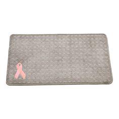 """Medium Pet Placemat (13""""X24"""") Pink Ribbon: $28.00 #PintoWin @G G Bailey #PinittoWinit"""