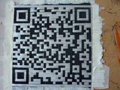 Woven-QR-code