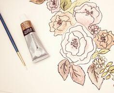 watercolor by myra c
