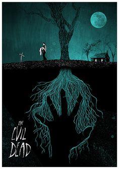 The Evil Dead Giclee print