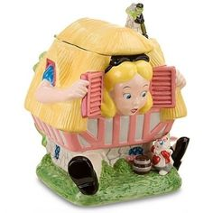Alice in Wonderland Cookie Jar
