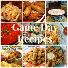 Game Day Roundup - 17 recipes