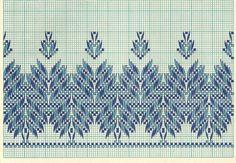 swedish weav, bordado yugoslavo, punto yugoslavo