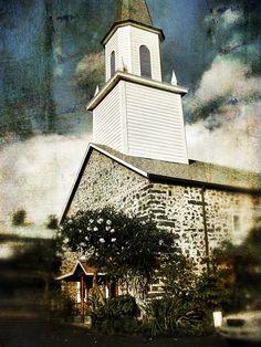 Moku'aikaua Church, Kailua-Kona, Big Island, Hawaii