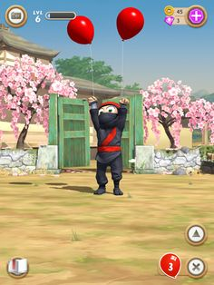 Clumsy Ninja app: the game they took 10 years to perfect. It's awesome!