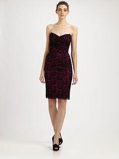Strapless Lace Dress by Dolce & Gabbana #Lace_Dress #Dress #Dolce_&_Gabbana