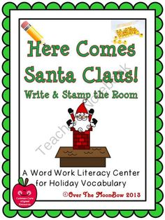 This fun, holiday themed activity pack will help your students practice reading, writing, & vocabulary; A perfect complement to your holiday...