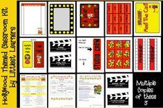 Ideas for our Hollywood Theme