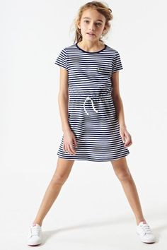 #Lacoste striped #dress for #girls