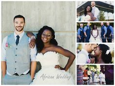 GHANAIAN BRIDE + CANADIAN GROOM.