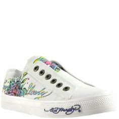 Ed Hardy Womens Lr Stone White Sneaker « Shoe Adds for your Closet