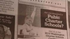 Tacoma Charter School Ad Mistakenly Asks Readers If They're Interested in 'Pubic Charter Schools'