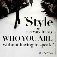 Daily Fashion Quote