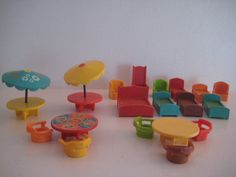 Fisher Price Little People Furniture