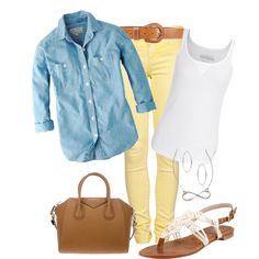 """Spring Casual"" by wcatterton on Polyvore"