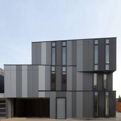 hous design, corner hous, architectur black, houses, architectur design